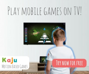 Play mobile games on TV!